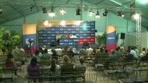 Présidentielle au Venezuela: dernières sorties des candidats