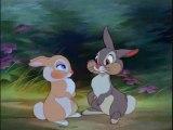 Un extrait du célèbre dessin animé Bambi de Walt Disney
