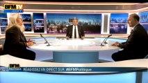 BFM Politique: l'interview BFM Business, Pierre Moscovici répond aux questions d'Hedwige Chevrillon - 14/04
