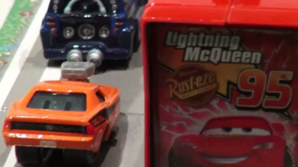 Pixar Cars, a video re-enactment of How Lightning McQueen got stranded in Radiator Springs