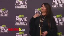 Kim Kardashian 2013 MTV Movie Awards Fashion Red Carpet Arrivals