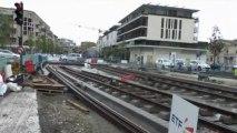 Soudure Tramway extension ligne A à Mérignac