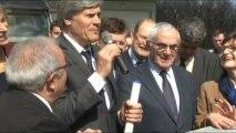 Aux côtés de Stéphane Le Foll, Martin Malvy rappelle le fort potentiel du biogaz en Midi-Pyrénées