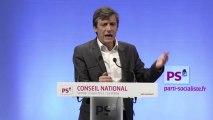 Intervention de David Assouline au conseil national du PS