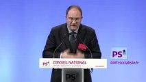 Intervention de Guillaume Bachelay au au conseil national du PS