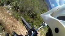 Descente Mont Chauve Nice (GOPRO HERO 3)