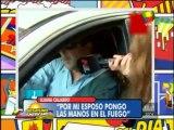 TeleFama.com.ar Iliana Calabró pone las manos en el fuego por su marido
