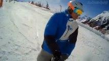 [HD] Snowboard & Ski à l'Alpes d'Huez - MagiCam SD21 + Perche