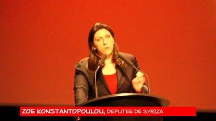Intervention de Zoé KONSTANTOPOULOU, députée de Syriza