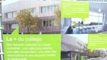 Première pierre du collège intercommunal Saint-Denis/Saint-Ouen