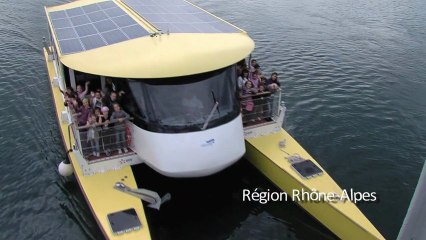 bateau electro solaire