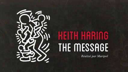 KEITH HARING, THE MESSAGE 1/6 - Downtown NYC