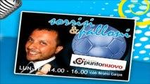 "Soccermagazine, Emanuele Celeste in ""Sorrisi e Palloni"" su Radio Punto Nuovo - 16/04/13"