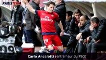 """Ancelotti : """"Gameiro s'est excusé"""""""