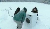 pub Samsung pour une machine à laver