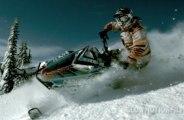 Bachelor Oregon Snowmobiling - Super Slow Motion Films