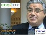 Eco TLC : nouvel adhérent de l'ORDIF - Alain CLAUDOT, Directeur Eco TLC