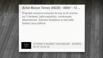 A vendre - maison - Tarnos (40220) - 12 pièces - 480m²
