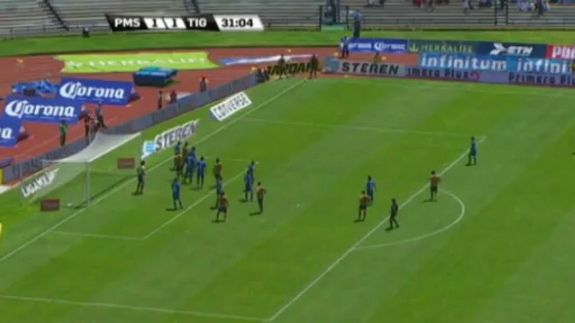 Piękny gol Matina Bravo dla Pumas