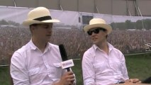 The Hives interview at Wireless Festival with Virtual Festivals