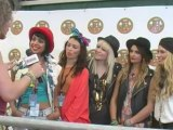 Parade interview at Isle Of Wight Festival 2011 with Virtual Festivals