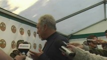 Tom Jones interview at Isle Of Wight Festival 2011 with Virtual Festivals