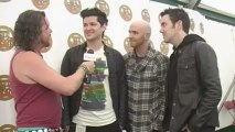The Script interview at Isle Of Wight Festival 2011 with Virtual Festivals