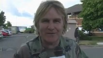 Mike Peters interview at Isle Of Wight Festival 2011 with Virtual Festivals
