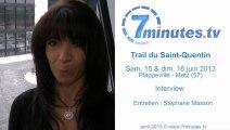 Trail du Saint-Quentin - Interview 02 - Angie Celaya