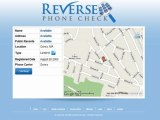 Reverse Phone Lookup - Run Reverse Number Lookup - Reverse Phone Check - Discover Who Owns Any Phone Number land Line or Cell Phone, Instantly!
