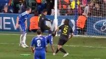 ЛЧ 2011-12 1-2 финала Первый матч Челси - Барселона обзор