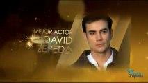 PROMO: Nominación MEJOR ACTOR David Zepeda @davidzepeda1 Premios TVyNovelas 2013