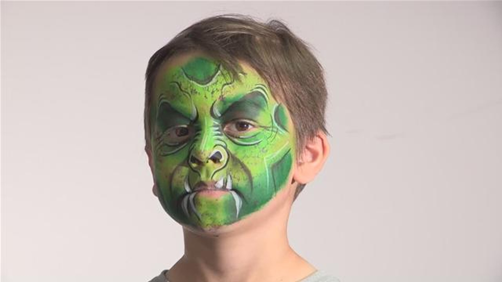 How To Do Horror Style Face Paint