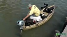 Motorized Kayak Fishing in the Texas Marsh