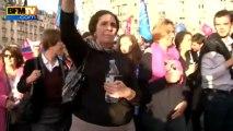 Débordements en marge d'une manifestation anti-mariage homosexuel - 18/04