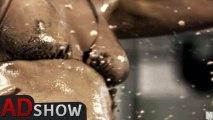 Mud wrestling: sexy bikini babes get dirty