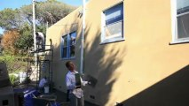 Learn how to apply Santa Barbara Smooth Mission Finishes, cool stucco finishes