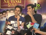 Ayushmann Khurrana, Kunaal Roy Kapur at 'Nautanki Saala!' Success Bash