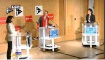 Municipales à Paris: premier débat entre Hidalgo et Dati