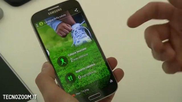 Samsung Galaxy S4 video anteprima in italiano