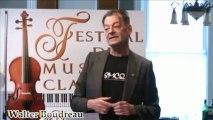 Walter Boudreau - Festival de musique classique de Pierre-de Saurel - point de presse 2013