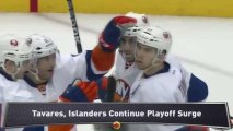 Islanders Rally; Rangers, Jets Win