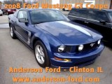 2008 Ford Mustang GT Coupe available at Anderson Ford Clinton IL   Bloomington, Decatur, Springfield, Champaign 