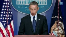 """Obama Statement on Boston Marathon Attack: """"People Shouldn't Jump to Conclusions"""""""
