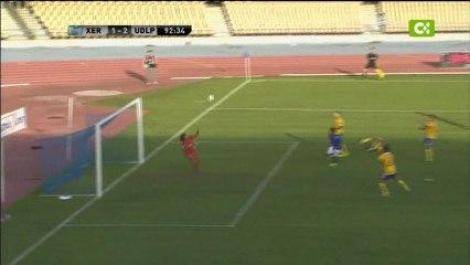 Barbosa salvó los tres puntos con un paradón - Vídeos de 2012/2013 de la UD Las Palmas
