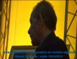 تكريم الفنان الجزائري أحمد بنعيسي بمهرجان الفيلم الروائي القصير  بوجدة . féstival maghrébin du cout métrage a oujda