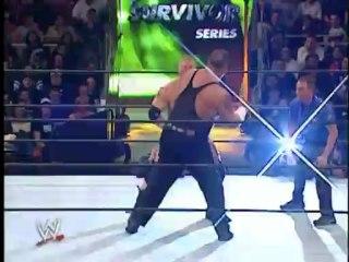 Brock Lesnar vs Big Show - WWE Championship - Survivor Series 2002
