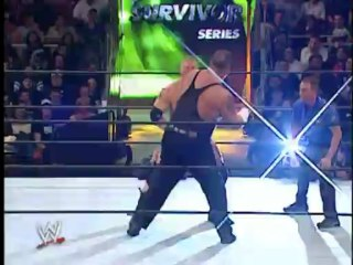 Brock Lesnar vs Big Show Survivor Series 2002