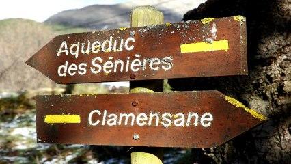 Clamensane - L'aqueduc des sagnières - HD 720