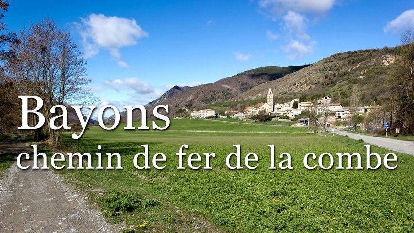 Bayons - Chemin de fer de la Combe - HD 720